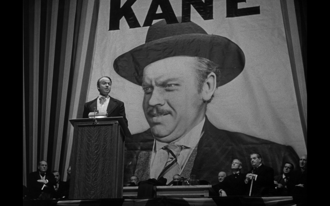 Citizen Kane (Check out that empowering angle.)